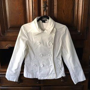 Willi Smith Twill Pea Coat Jacket